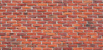monter un mur en brique rouge