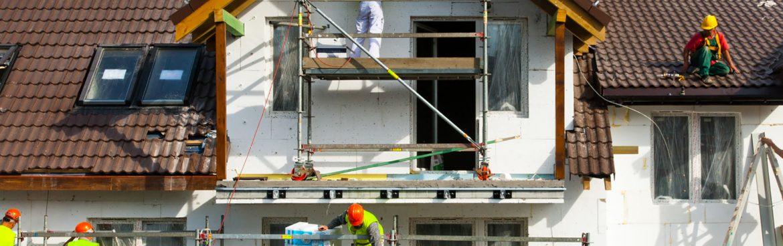 travaux de rénovation de façade