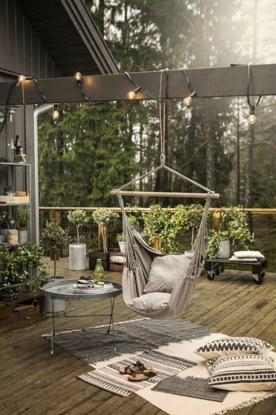Bien aménagée, une terrasse peut devenir un lieu de vie supplémentaire