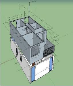 Surélévation d'une maison