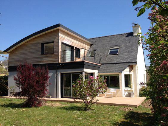 Une extension apporte une réelle plus-value à une maison