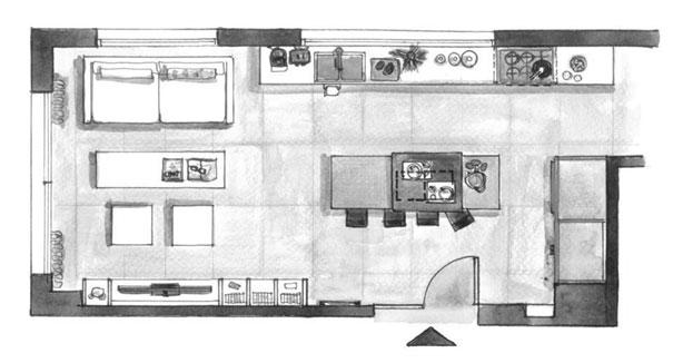 plan de rénovation appartement