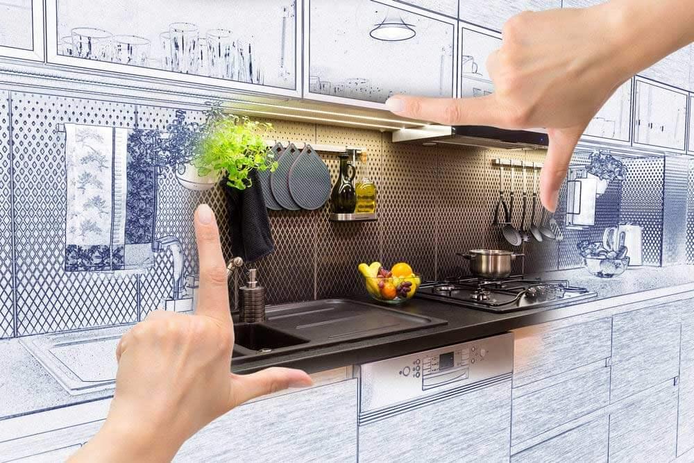 Imaginer comment relooker sa cuisine avant de commencer for Imaginer sa cuisine