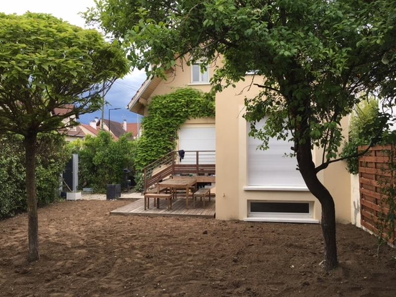 extension maison sartrouville vue d'extérieur